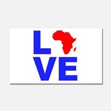 Love Africa Car Magnet 20 x 12