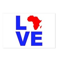Love Africa Postcards (Package of 8)