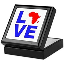 Love Africa Keepsake Box