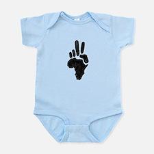 African Peace Infant Bodysuit