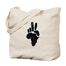 African Peace Tote Bag