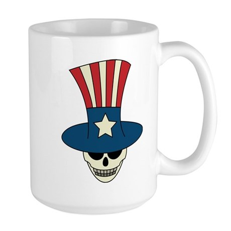 Uncle Damned Sam Large Mug
