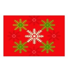 Snowflake Array Postcards (Package of 8)