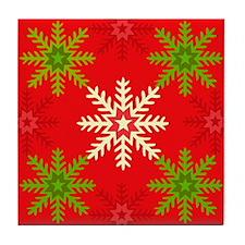 Snowflake Array Tile Coaster
