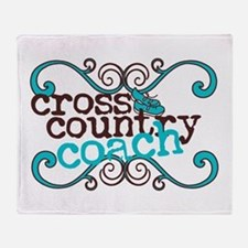 Cross Country Coach Throw Blanket