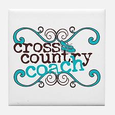 Cross Country Coach Tile Coaster