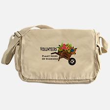 Volunteers Plant Seeds of Kindness Messenger Bag