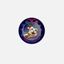 I Believe in Santa Paws Mini Button