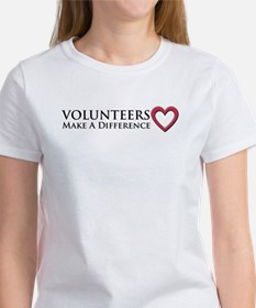 Volunteers Make a Difference Tee