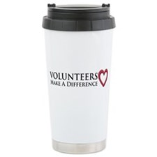 Volunteers Make a Difference Travel Mug
