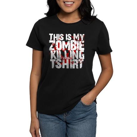 This is My Zombie Killing t-s Women's Dark T-Shirt