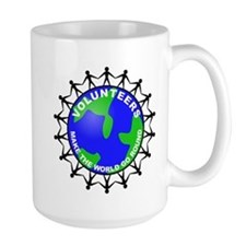 Volunteers Make the World Go Mug