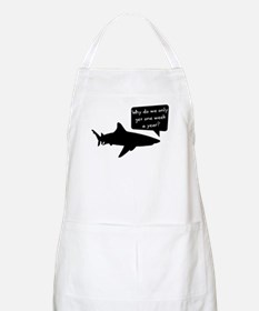 Shark Thoughts Apron