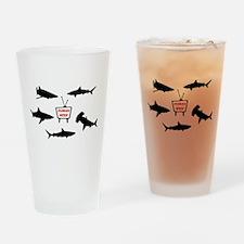Human Week Drinking Glass