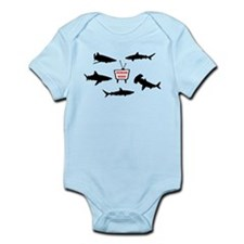 Human Week Infant Bodysuit