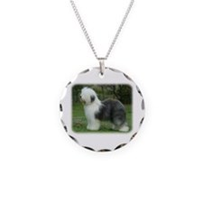 Old English Sheepdog 9F054D-18 Necklace
