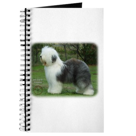 Old English Sheepdog 9F054D-18 Journal
