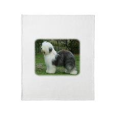 Old English Sheepdog 9F054D-18 Throw Blanket