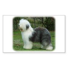 Old English Sheepdog 9F054D-18 Decal