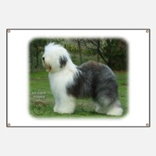 Old English Sheepdog 9F054D-18 Banner