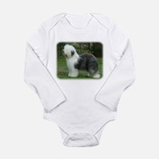 Old English Sheepdog 9F054D-18 Long Sleeve Infant