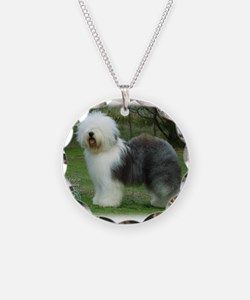 Old English Sheepdog 9F054D-17 Necklace