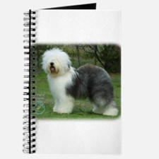 Old English Sheepdog 9F054D-17 Journal