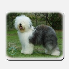 Old English Sheepdog 9F054D-17 Mousepad