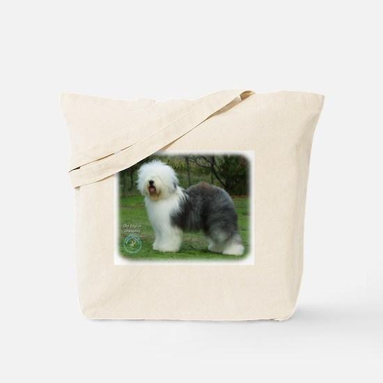 Old English Sheepdog 9F054D-17 Tote Bag