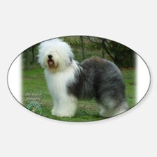 Old English Sheepdog 9F054D-17 Decal