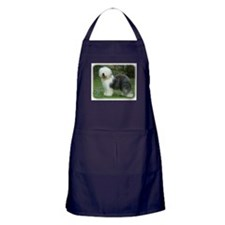 Old English Sheepdog 9F054D-17 Apron (dark)