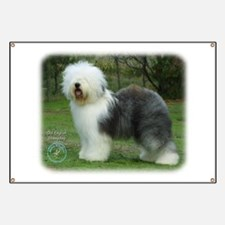 Old English Sheepdog 9F054D-17 Banner