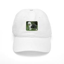 Old English Sheepdog 9F054D-17 Baseball Cap