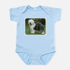 Old English Sheepdog 9F054D-17 Infant Bodysuit