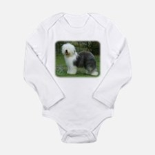 Old English Sheepdog 9F054D-17 Long Sleeve Infant