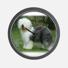 Old English Sheepdog 9F054D-17 Wall Clock