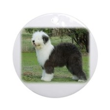 Old English Sheepdog 9F055D-17 Ornament (Round)