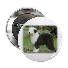 "Old English Sheepdog 9F055D-17 2.25"" Button (100 p"