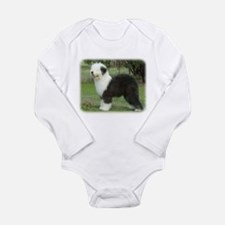 Old English Sheepdog 9F055D-17 Long Sleeve Infant