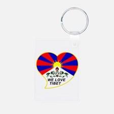 We love Tibet Keychains