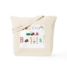 Cute Boston bruins Tote Bag