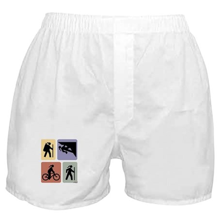 Multi Sport Grrls: Boxer Shorts