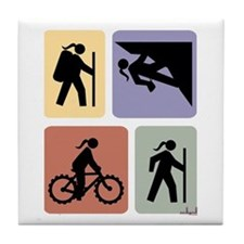 Multi Sport Grrls: Tile Coaster