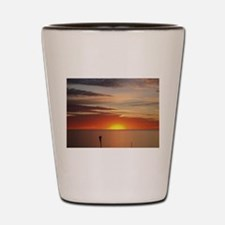 elph Hallett Cove,S.A. sunset Shot Glass