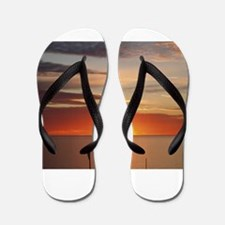 elph Hallett Cove,S.A. sunset Flip Flops