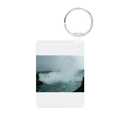 elph Niagara Falls Aluminum Photo Keychain