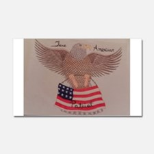 Patriot Car Magnet 20 x 12