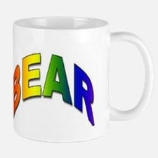 RAINBOW BEAR TEXT Mug
