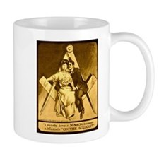 Love a Mason Masonic Coffee Mug (left hand)