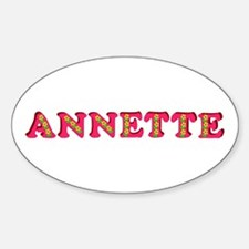 Annette Sticker (Oval)